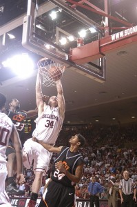 &quot;The Dunk&quot; against Oklahoma State.